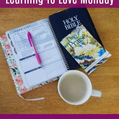 Learning To Love Monday From A Biblical Perspective + Practical Tips