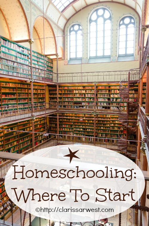 homeschooling: where to start?