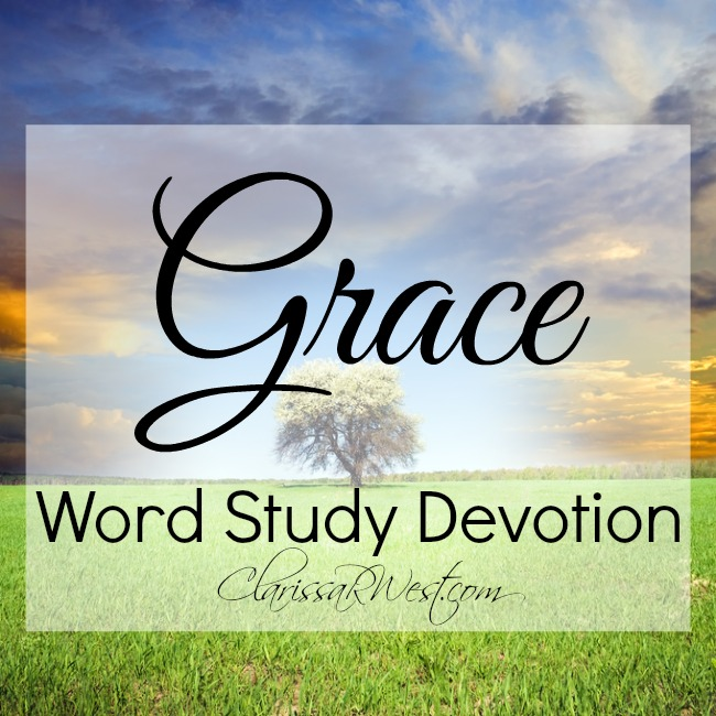 Grace Word Study Devotion