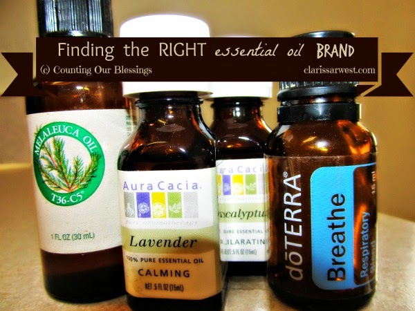 Finding the Right Essential Oil Brand