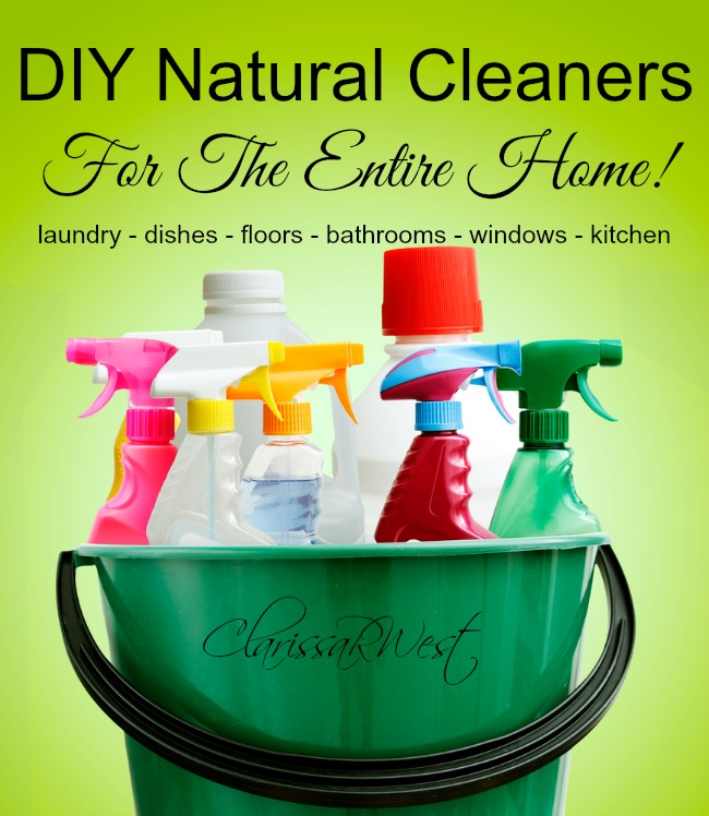 DIY Natural Cleaners (for the entire house!)