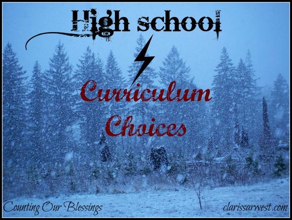 Rersearching High School Curriculum