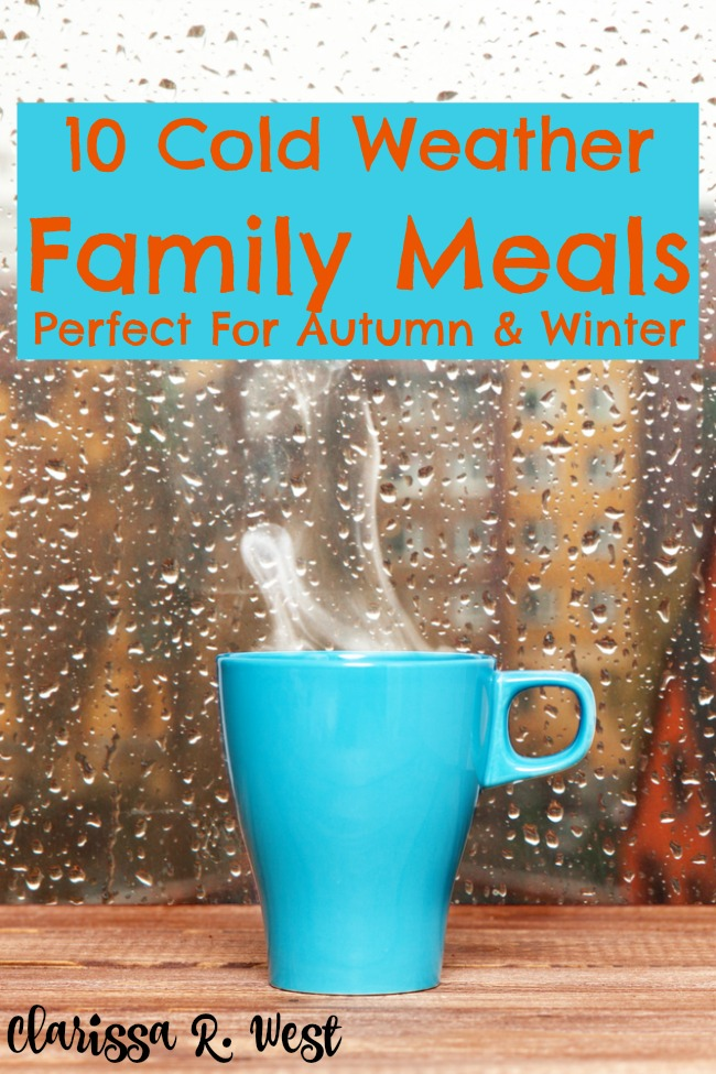 10 Cold Weather Meals Perfect For Autumn & Winter