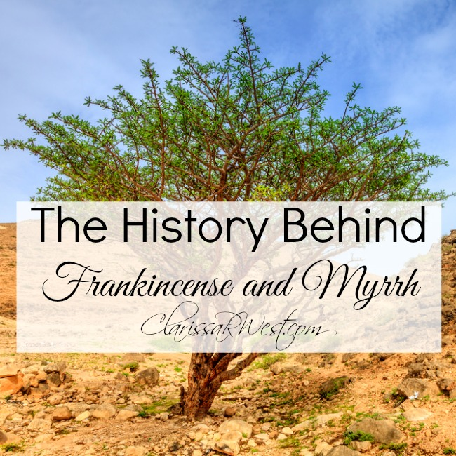 The History Behind Frankincense and Myrrh
