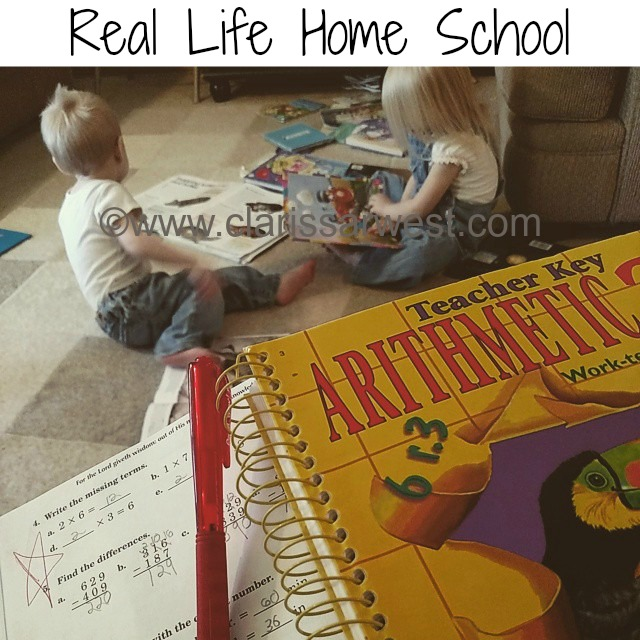 A REAL Look Into The Life Of Our Homeschooling-Special Needs-Large Family