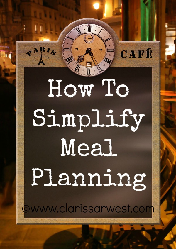 how to simplify meal planning as a large family mom!