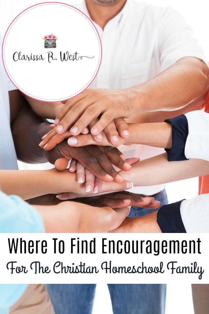 Encouragement For The Christian Homeschool Family