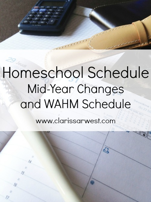 Working From Home While Homeschooling: Our New Schedule