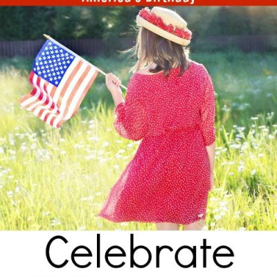 [Free Printable Pack] Celebrate Red, White, and Blue! With Real Food & Educational Ideas