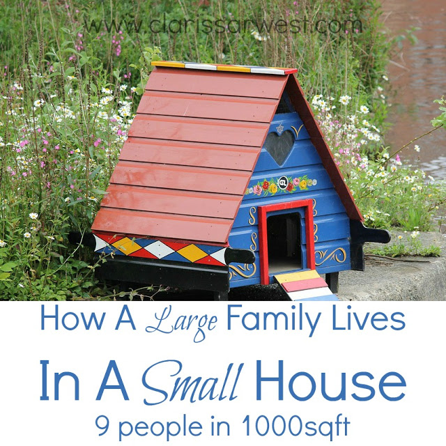 How A Large Family Lives In A Small House