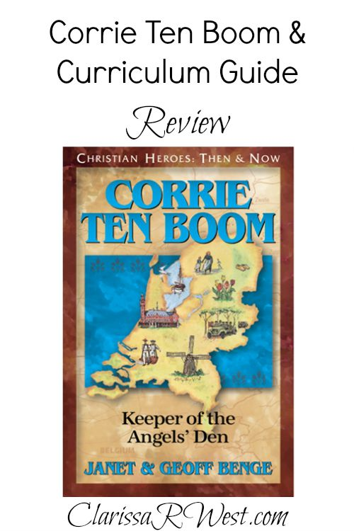 Corrie Ten Boom Book & Curriculum Guide Review