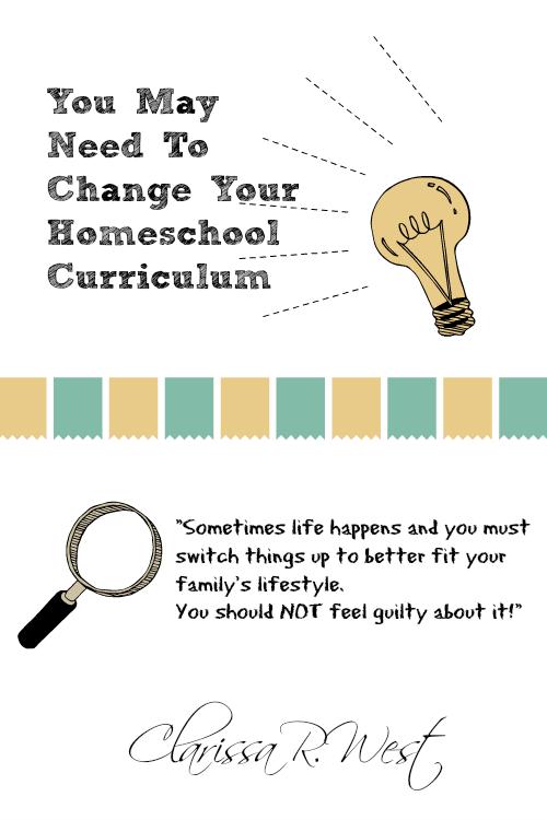 You May Need To Change Your Homeschool Curriculum