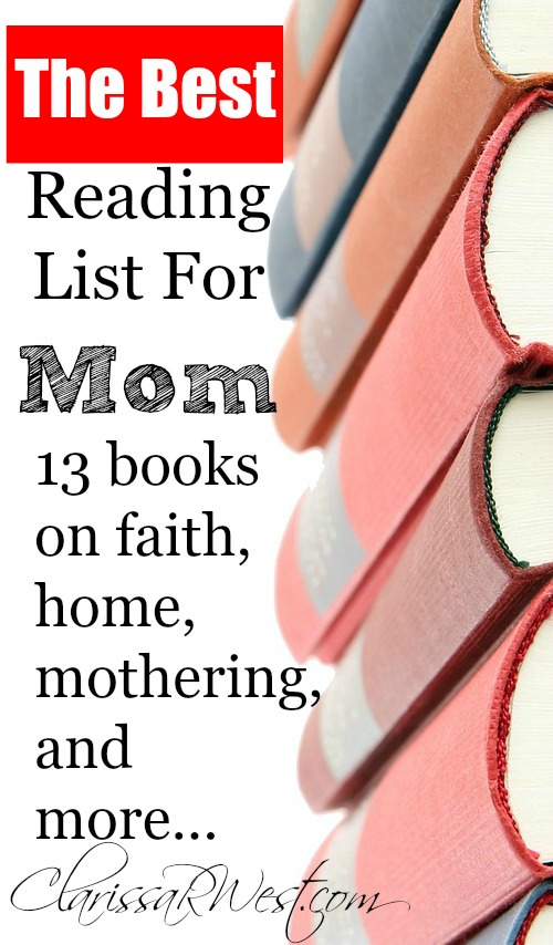 The best reading list for mom 13 books