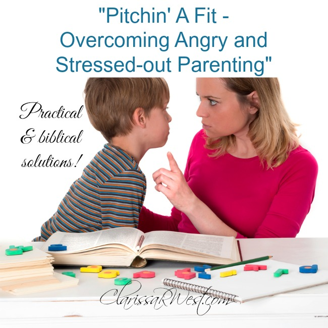 Pitchin' A Fit - A Parenting Book Review