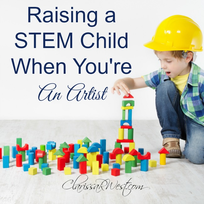 Raising a STEM Child When You're An Artist