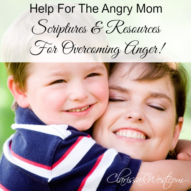 Help For The Angry Mom