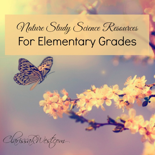 Nature Study Science Resources For Elementary Grades