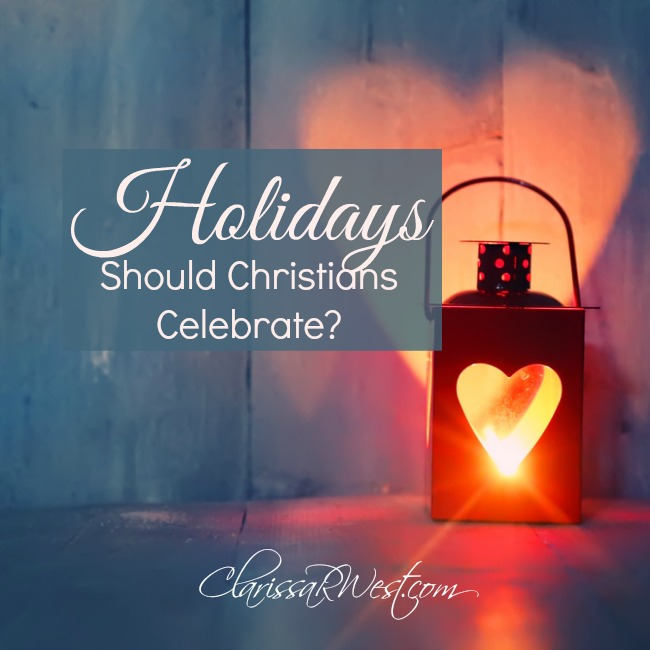should Christians celebrate holidays? a biblical word study.