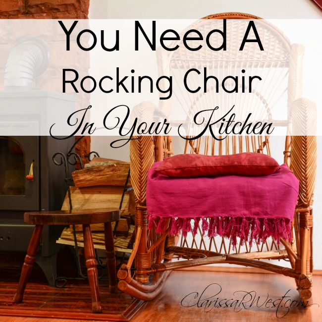 You Need A Rocking Chair In Your Kitchen