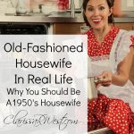 Old Fashioned Housewife In Real Life