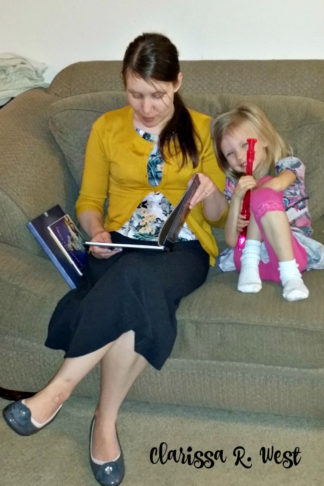 Reading With Children Is Important, and the perfect Simple Advent Activity For Busy Moms