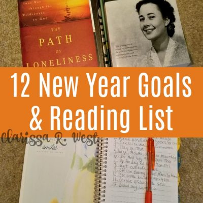 12 New Year Goals & Reading List