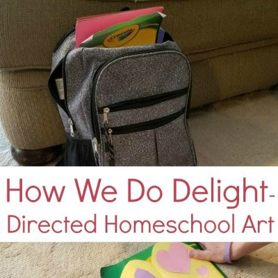 How To Cultivate Creativity In Kids | How We Do Delight-Directed Homeschool Art