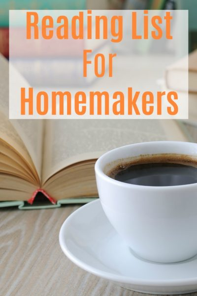 Reading List For Homemakers