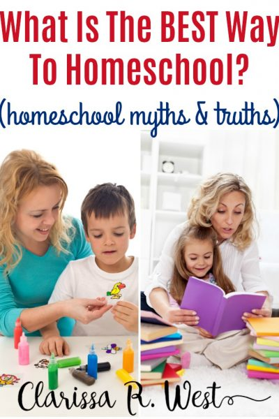 What Is The BEST Way To Homeschool? (homeschool myths & truths)