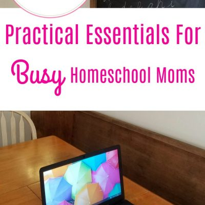 Practical Essentials For Busy Homeschool Moms