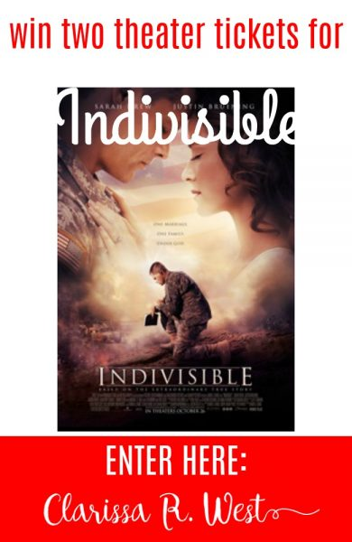 win two theater tickets for Indivisible