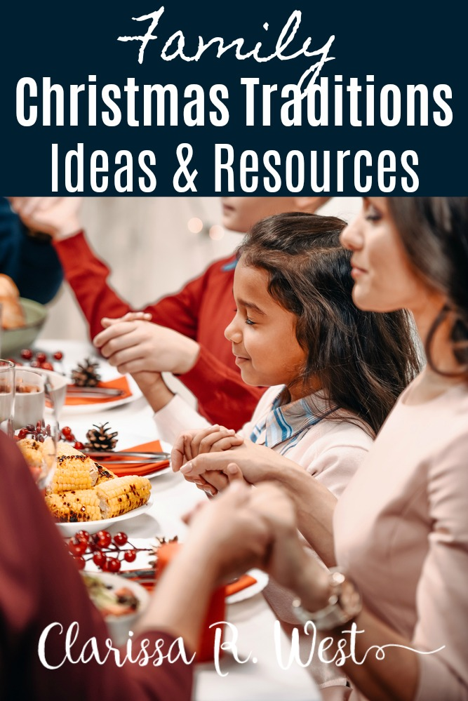 Family Christmas Traditions - Ideas & Resources