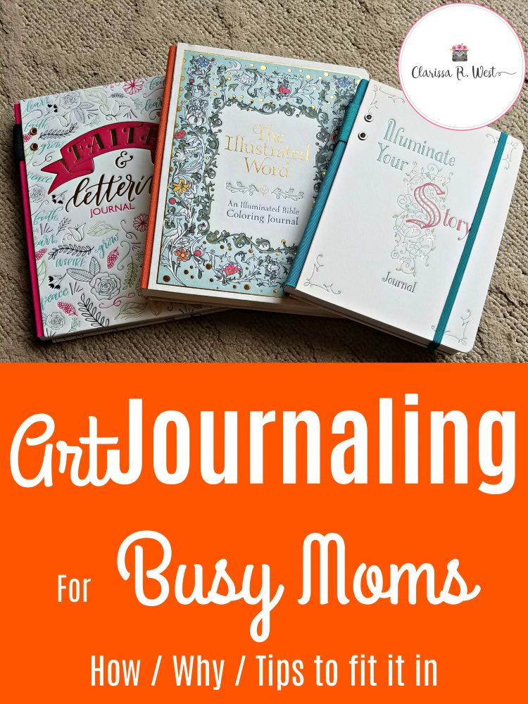 Art Journaling For Busy Moms