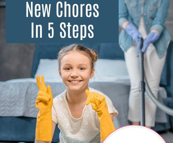 How To Teach Children New Chores In 5 Steps