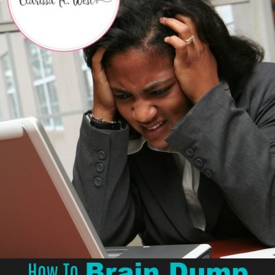 How To Brain Dump To Save Your Sanity As A Busy Mom