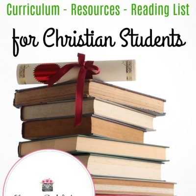Homeschool High School Plans : Curriculum – Resources – Reading List