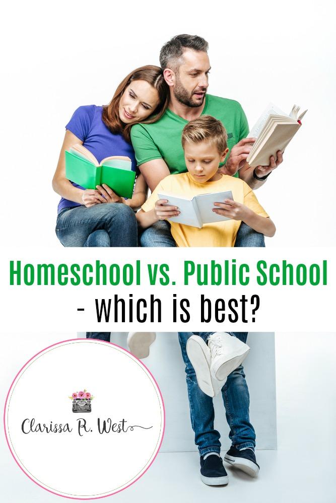 Homeschool vs. Public School - which is best?