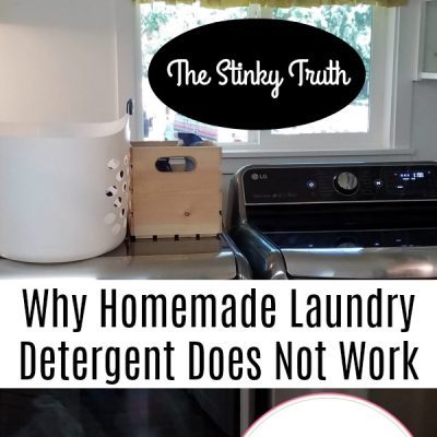 The Stinky Truth – Why Homemade Laundry Detergent Does Not Work