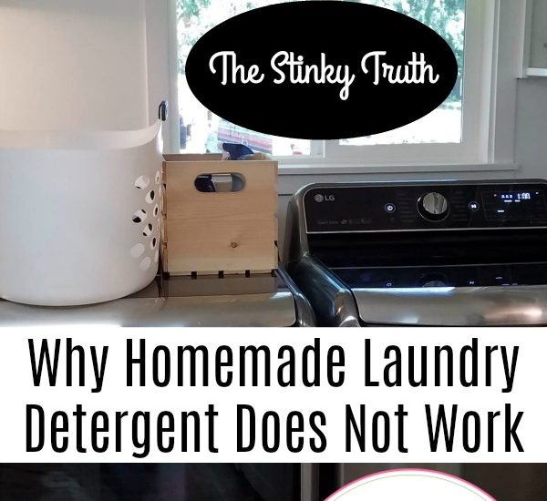 Why Homemade Laundry Detergent Does Not Work