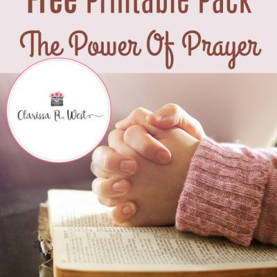 The Lord's Prayer Free Printable Pack | The Power Of Prayer