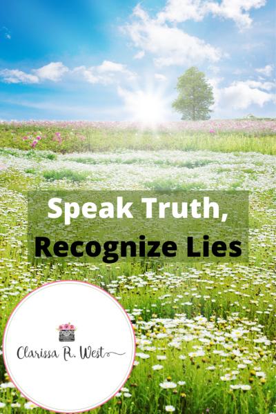 Speak Truth, Recognize Lies
