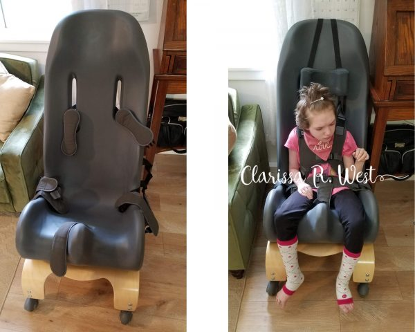 special tomato sitter for disabled child