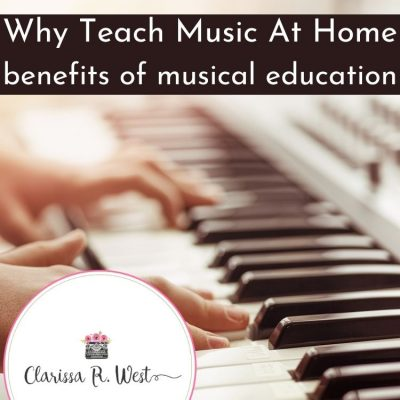Why Teach Music At Home | Benefits of Musical Education